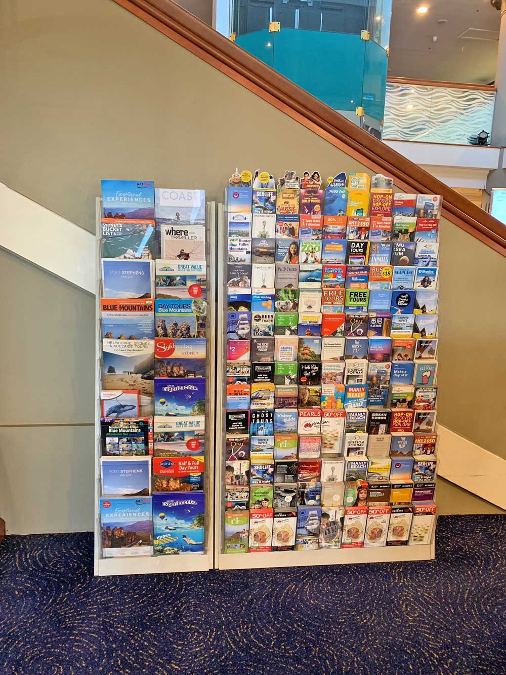 Sydney Brochure Display